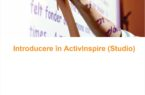 Ghid utilizare ActivInspire