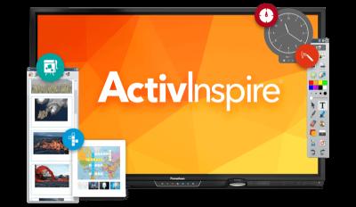 Software pentru lecții interactive inclus